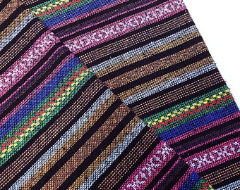 Thai Woven Fabric Tribal Fabric Native Fabric by the yard Ethnic fabric Aztec fabric Craft Supplies Woven Textile 1/2 yard (WF94)