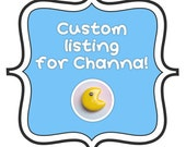 Custom Listing for Channa! Pacman Earrings - Single Pacman