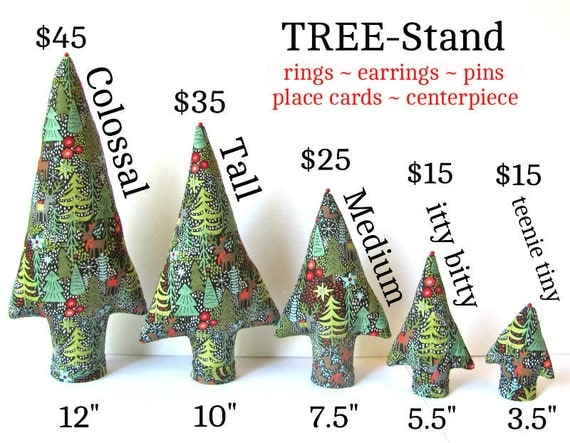 Custom Order Family TREE-Stand Grove Ring Trees Centerpiece Place Card Holder