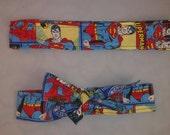 Superman, Man of Steel Fabric Headband