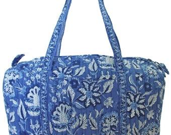 Travel Bag - Blue Sarasic