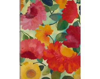 iCanvas Love Flowers I Gallery Wrapped Canvas Art Print by Kim Parker