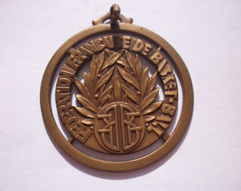 1930s French Basketball Medal