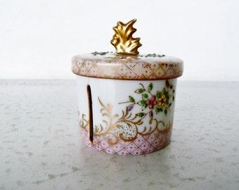Stamp Dispenser Porcelain Postage Roll Holder
