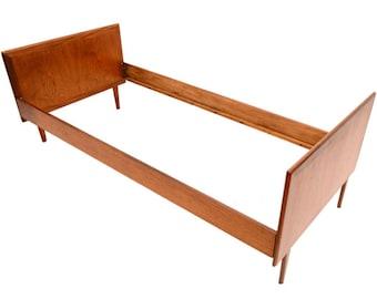 Danish Modern Teak Bed Frame Single Size, Daybed -