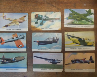 1940 Aviation Cigarette Trading Cards