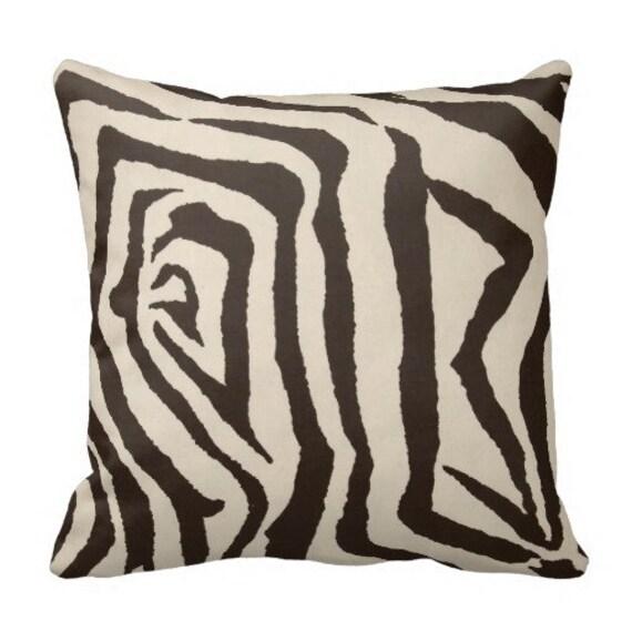 decorative pillows pillow covers zebra pillows animal print