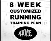 Customized 8 week running training plan - training program for races, base miles, PRs, etc