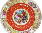 Porcelain Hand Painted English Plate