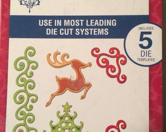 Spellbinders Shapeabilities FANCIFUL HOLIDAY  5 dies  S4-287