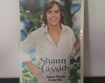 Vintage Shaun Cassidy Puzzle - 1978