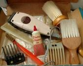 Vintage Wahl Hair Clipper Set - Antique Working Authentic Bar ER Shop Clippers, DIY Hair Cutting at Home, Barber Shop + Hair Art Salon Decor