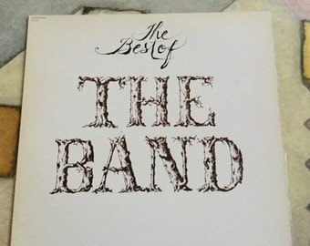 The Band The Best of on  Capitol   records compilation 1976