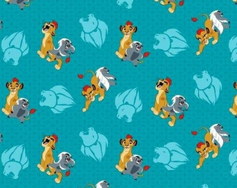 100% Cotton Lion King Fabric by the Yard