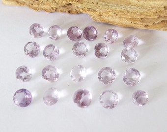 Natural Amethyst Round Lot 9.65cts