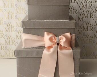 Wedding Card Box, Money Box, Card Holder  - Custom Made to Order