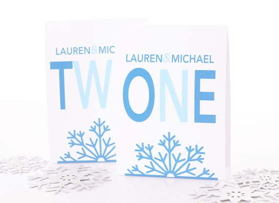 winter wedding table number tent cards winter wedding table