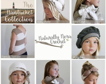 Instant Download 6 Pattern e-book-The Nantucket Collection