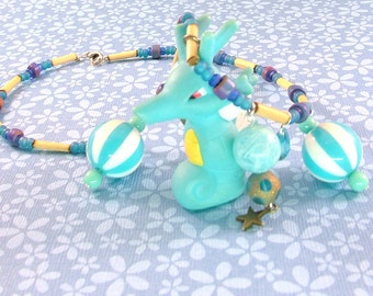 Kingdra Pokemon Necklace