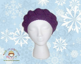Crochet Hat for Women Crochet Hat Women Crochet Tam Handmade Hat Crochet Beret Crochet Cap Crochet Winter Hat