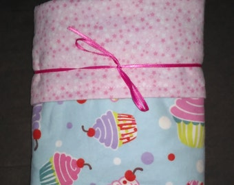 XL Reversible Flannel Baby Blanket