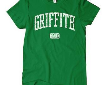 Women's Griffith Park T-shirt - S M L XL 2x - Ladies' L.A. Tee, Los Angeles, California - 4 Colors