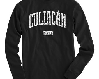 LS Culiacan Mexico Tee - Long Sleeve T-shirt - Men and Kids - S M L XL 2x 3x 4x - Culiacan Shirt, Mexican, Sinaloa - 4 Colors