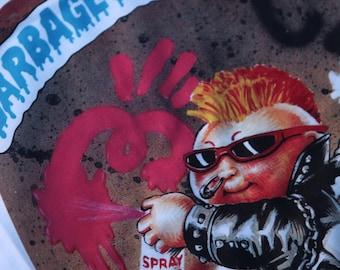 GARBAGE PAIL KIDS T-Shirt New Wave Dave gpk Series 1 vtg 80s #30a punk rocker Pick Size xs - 2xl