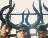 Madonna's 'Living for love' leather horns.