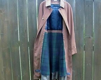 Ralph Lauren Blue Label brown trench coat size 42L