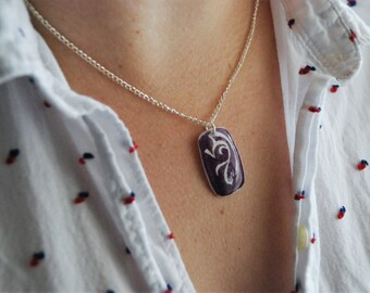 Abstract Dragon Necklace