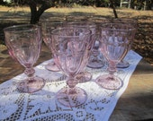 Lavender Goblets DuraTuff Gibraltar Set of 4  Two sets available Amythest