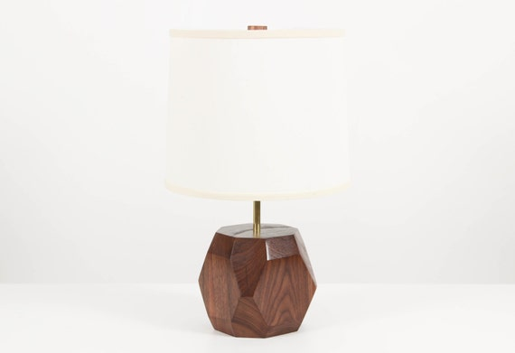 gem lamp wooden table lamp modern lighting living room. Black Bedroom Furniture Sets. Home Design Ideas