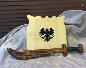 Sword & Eagle Shield