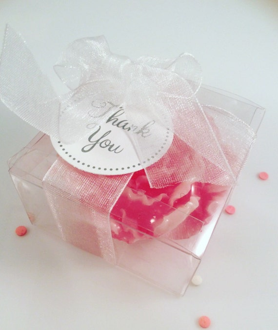 25 Peony Soaps Flower Soap Favors Mothers Day Birthday Favors