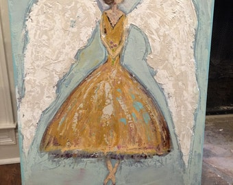 Ballet angel painting