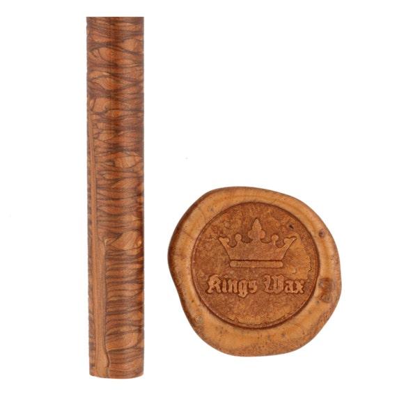 Antique Copper Pearl Sealing wax sticks - 7 breakable style wax sticks in glue gun format