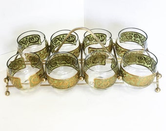 Vintage Toledo Roly Poly Glasses