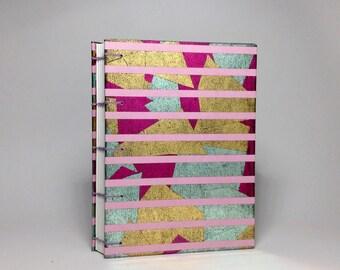 Abstract Metallic Journal