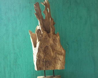 Beach Décor Drift Wood Piece on a stand #1,  by SEASTYLE