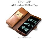 Nexus 6P Leather Phone Wa...