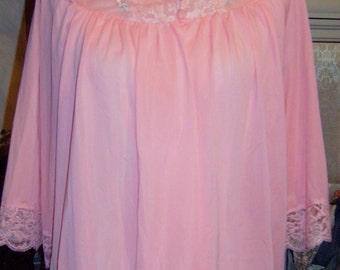 Vintage, Peach Bed Jacket, Lingerie, Ladies , Bed Jacket, Romantic