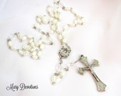Mother of Pearl Sacred Heart Rosary