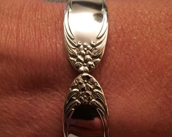 National Four 1931 Spoon Bracelet