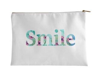 Pouch, Smile by Elderbrook Studio