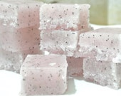 Sugar and Poppy Seed Soap Scrub Soap Set of 8