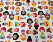 One (1) Yard of Ann Kelle fabric in Super Kids