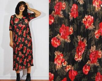 90s Petal Pusher Dress XS-L