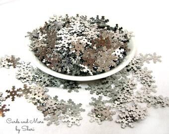 Snowflake Sequins Pailletes Confetti