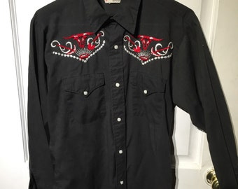 Cowboy Joe Vintage button down